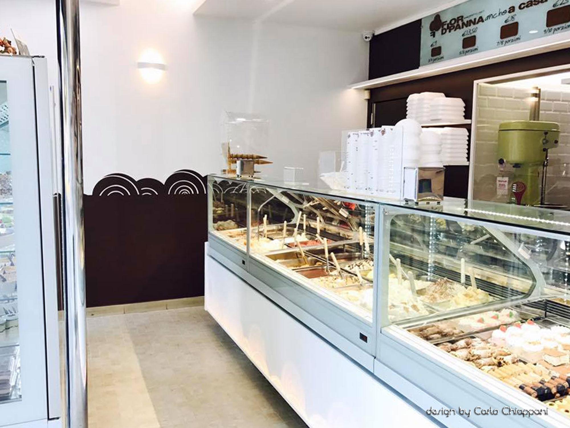 Arredamenti gelateria di design a milano gm group for Gm arredamenti